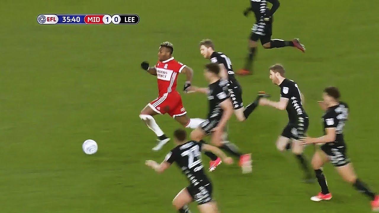 Adama Traore Plays Football Like Madden NFL! - YouTube