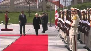 Визит президента Литвы в Грузию