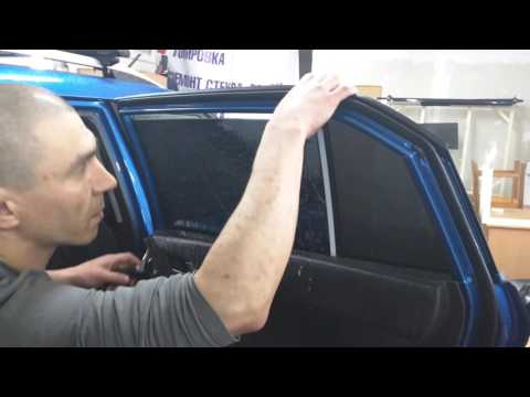видео: Тонировка, заднее боковое стекло