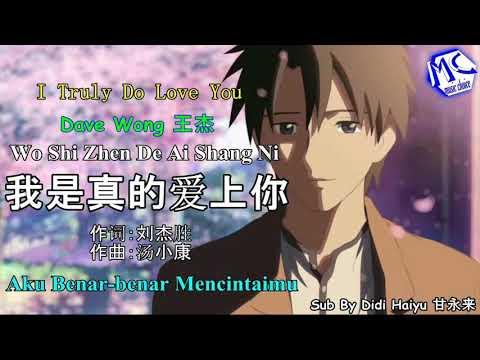 Wang Jie (王杰)Wo Shi Zhen De Ai Shang Ni (  我是真的爱上你) 伴奏 Karaoke .