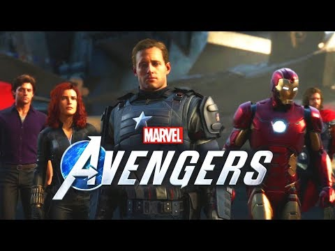 MARVEL AVENGERS 4-PLAYER ONLINE CO-OP SOUNDS AMAZING! E3 2019 Reveal Trailer!