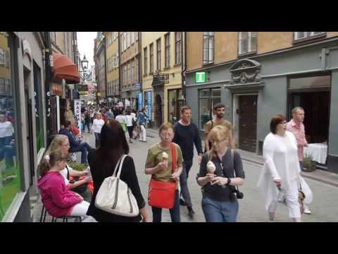 Stockholm old town last day in July 2013