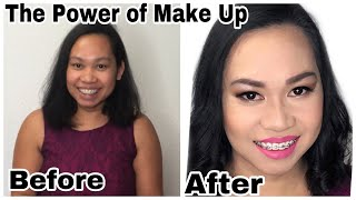ASIAN EXTREME MAKE UP TRANSFORMATION |Asian Make Over|Asian Beauty|In CollaborationwithotherYoutuber