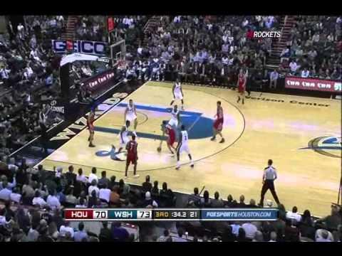 Yi Jianlian and John Wall Highlights Vs. Houston Rockets