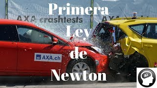Primera Ley de Newton, Ley de la Inercia