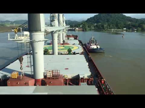 Panama Kanal Geçişi ( Baştan Sona ) M/V Lady Serra
