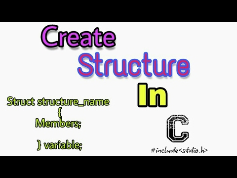 Create and Store Data into Structure || C language concepts