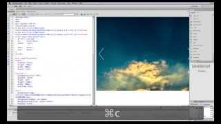 How to create a beautiful image slider slideshow from scratch in Dreamweaver CS6