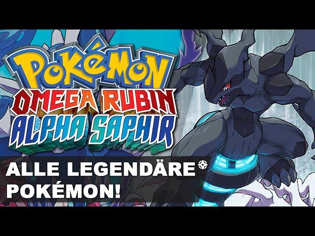 Alle Legendären Pokémon Fangen In Pokemon Omega Rubin Alpha Saphir