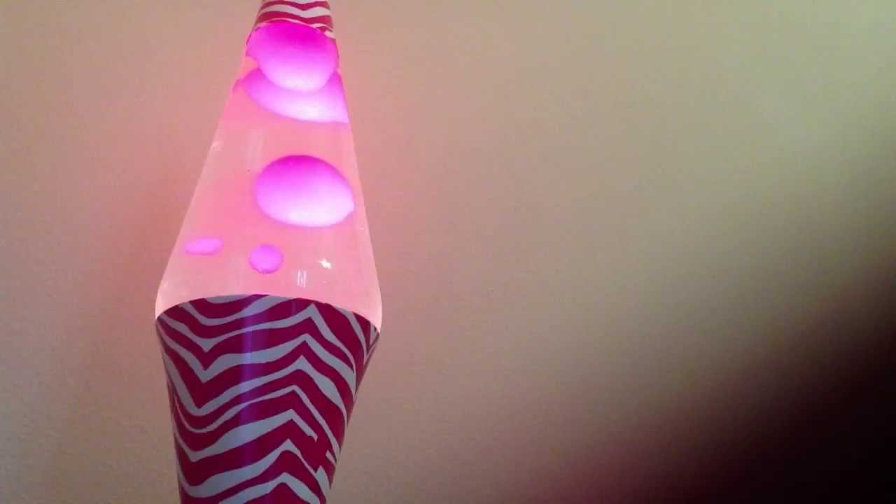 Pink lava lamp - YouTube