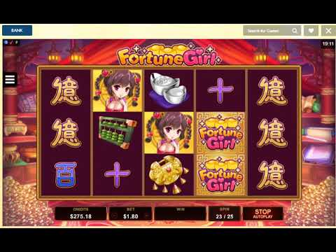 FORTUNE GIRL Online Slot Machine Live Play Free Spins Big Win Followed By Free Spins