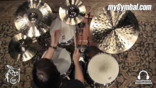 "Zildjian 11"" K Custom Hybrid Splash Cymbal - 401g (K1211 1022216D)"