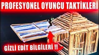 PROFESYONEL OYUNCU TAKTİKLERİ !! GİZLİ EDİT BİLGİLERİ !! ( Fortnite Battle Royale Türkçe )