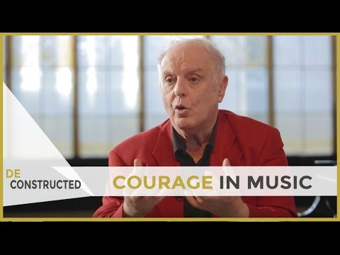 Courage in Music - Daniel Barenboim | Deconstructed [subtitulado]