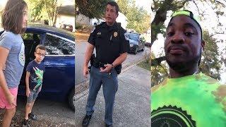 White Woman Calls 911 After Seeing Black Man Babysitting 2 Children