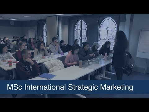 MSc in International Strategic Marketing