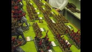 Battle 95. Battle of Pelennor Fields. Lord of the Rings. Hail Caesar/War of the Ring. 28mm.