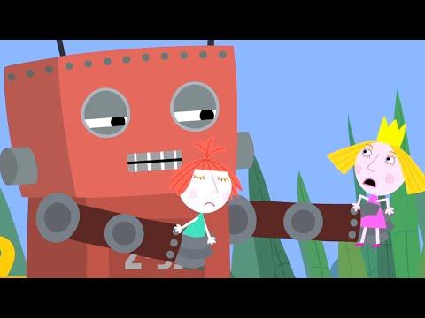 Ben y Holly  Nuevos Capitulos 🤖El robot de juguete 🤖Dibujos Animados