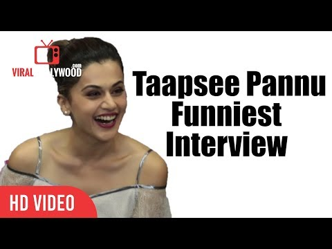 Chit Chat With Taapsee Pannu  Taapsee Pannu Funniest   Taapsee Pannu Inside Stories