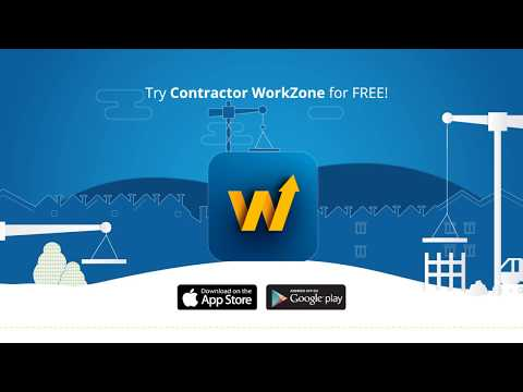 Trimble Contractor WorkZone Business App