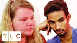 Azan Comes Clean To Nicole About Texting Other Women! | 90 Day Fiancé: Happily Ever After?