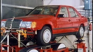Mercedes-Benz w124 development - design, testing, pre-production, part 2