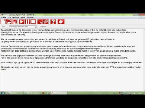 Beeldschermloep met spraak Optelec ClearView+ Speech from YouTube · Duration:  1 minutes 27 seconds