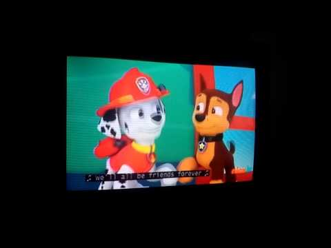 PAW Patrol friendship song