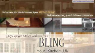 Style Up With Kitchen Worktops From Bling Your Kitchen, Uk