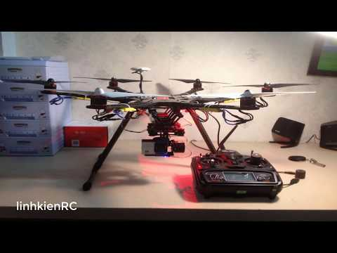 Hướng Dẫn Ráp KIT FLYCAM Hexacopter Tarot FY680 IRON MAN
