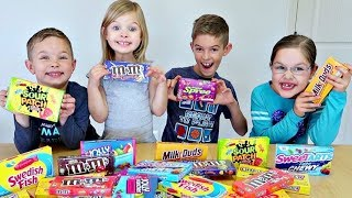 One of J House Vlogs's most viewed videos: CANDY TELEPATHY Challenge!