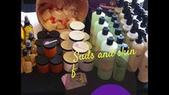 Luxury handmade products by Suds & Skin Cosmetics