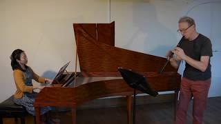 Mozart : KV 14, Csakan et Pianoforte