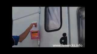 How to stop black streak on your caravan using Fenwicks