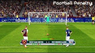 West Ham vs West Brom | Penalty Shootout | Penalty Shootout