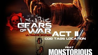 Gears Of War Ultimate Edition Act II COG Tag Locations