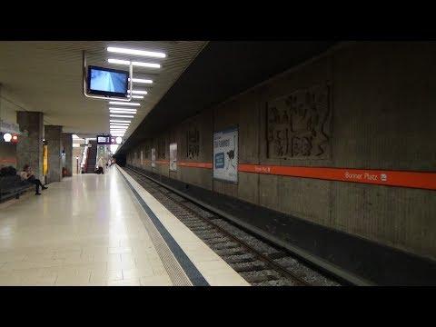 U-Bahn München Bonner Platz U3 (mit Typ A, Typ C und Typ C2[!])