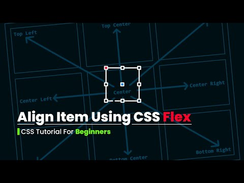 Align Text Using CSS Flex | Tutorial For Beginners