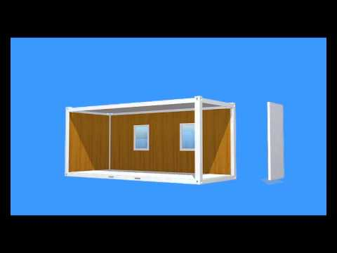Maison container video 3d maisons besteel youtube for Maison container youtube