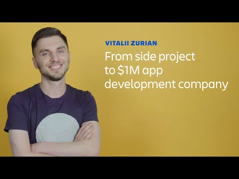From side project to $1M app development company