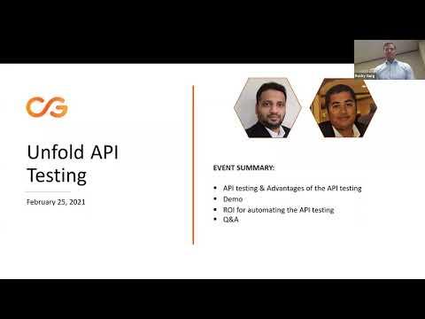 Unfold API Testing | Bits & Bytes Webinar