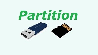 How to Partition Pen Drive or Memory Card
