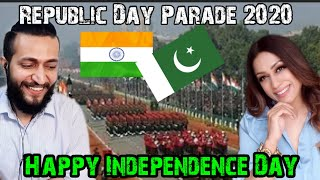 Pakistani Reaction on Hell March by INDIAN Army | Republic Day Parade 2020 | Reaction Waley