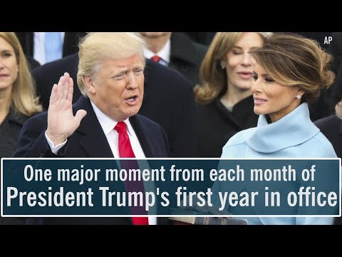 Download Youtube: President Donald Trump's first year in office