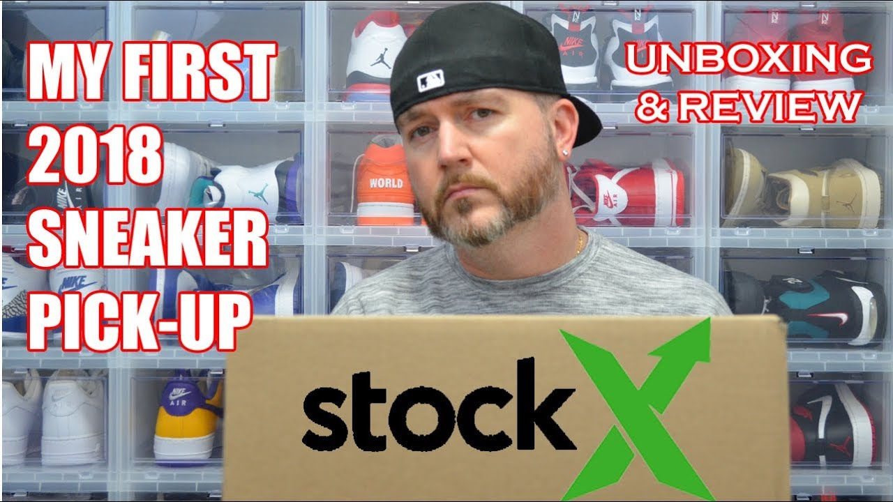 1a159ec8f MY FIRST 2018 SNEAKER PICK-UP !!! STOCK X UNBOXING   REVIEW ...