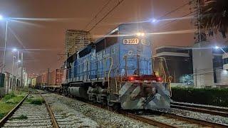 Tren nortino vuelve a Valparaíso - Chile.