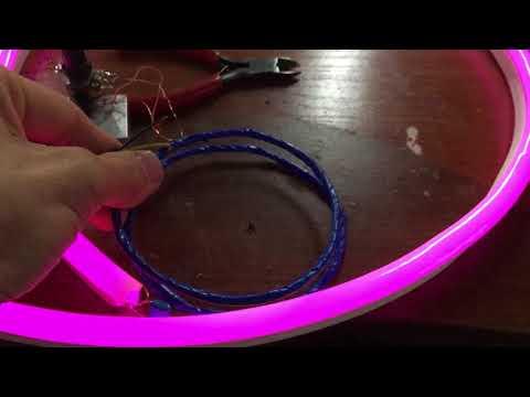 Подсветка для колёс своими руками