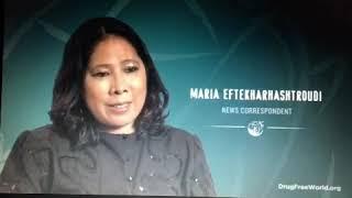 "Maria Eftekharhashtroudi (AKAMarilie Bomediano) on ""The TRUTH ABOUT DRUGS (Prevention Campaign)"