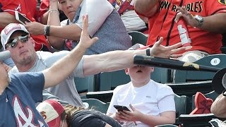 Dad of 8-Year-Old Saves Him from Flying Baseball Bat: 'He's My Superhero!'