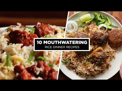 10 Mouthwatering Rice Dinner Recipes